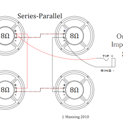 Speaker Wiring Diagram Series Vs Parallel Hdmi To Vga Is This Series/parallel For A 4x12? | The Gear Page
