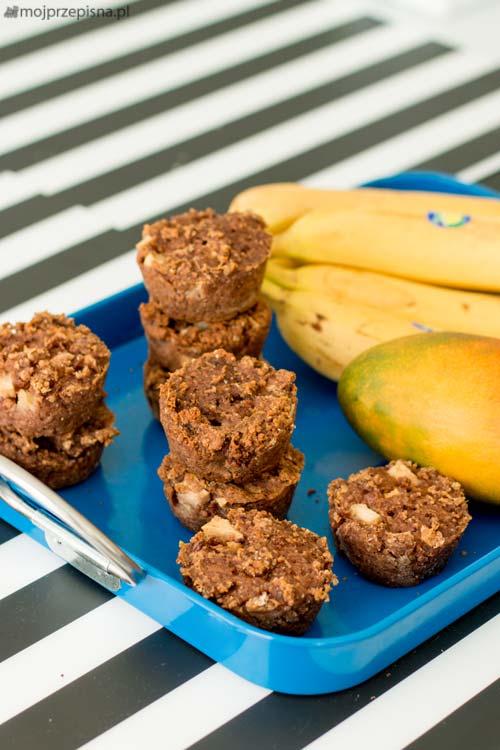 Wegańskie bezglutenowe muffiny jabłkowe