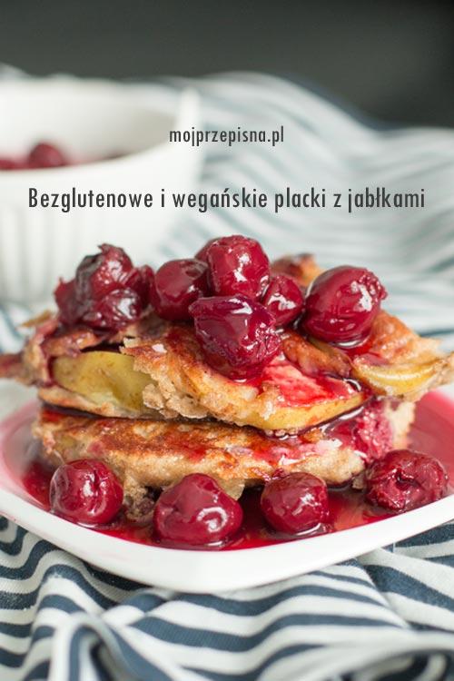 Bezglutenowe i wegańskie placki z jabłkami