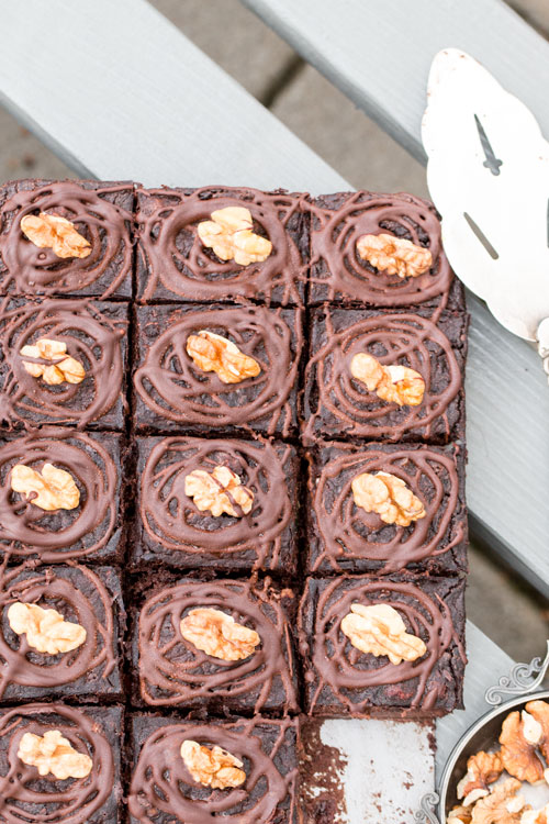 Fantastyczne i zdrowe ciasto czekoladowe z cukinia