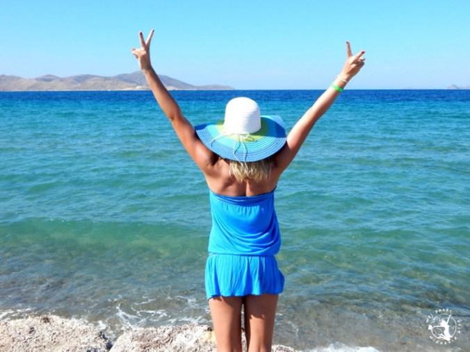 Mój Punkt Widzenia Blog - Tigaki Beach, plaża na wyspie Kos