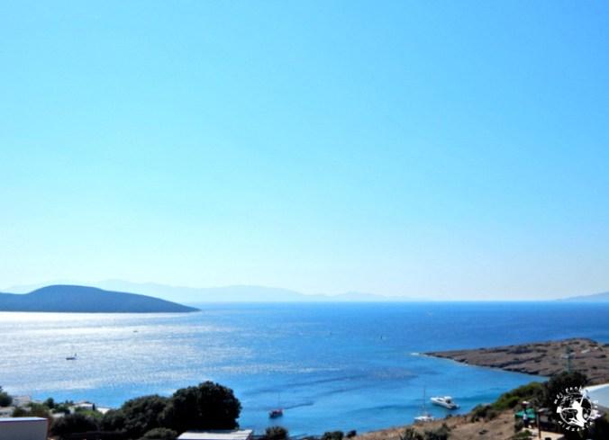 Mój Punkt Widzenia Blog - widok z miasta Bodrum na morze
