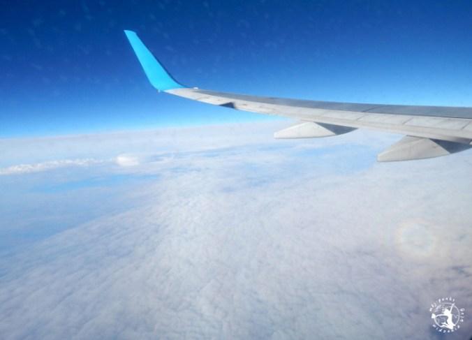 Mój Punkt Widzenia Blog - widok z samolotu, powrót do Polski