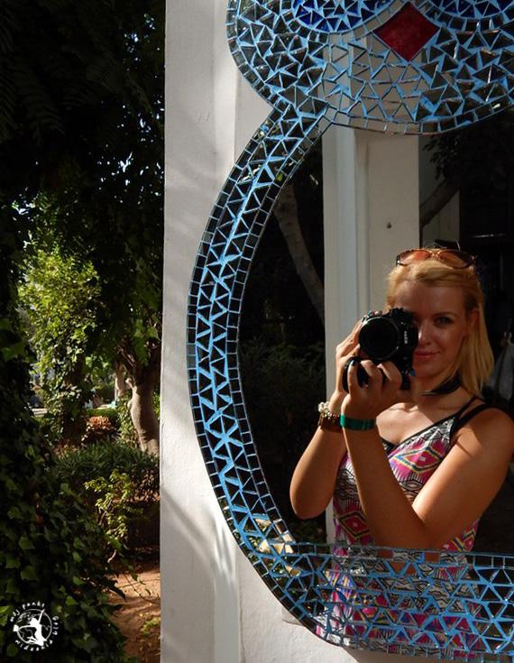 Mój Punkt Widzenia Blog - zdjęcie przy lustrze, Agadir