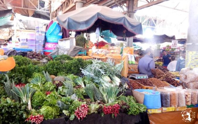 Mój Punkt Widzenia Blog - souk, targ z owocami i warzywami w Agadirze