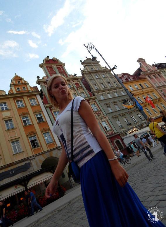 Mój Punkt Widzenia Blog - spacer na wrocławskim rynku