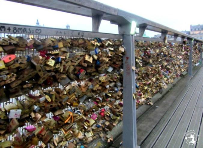 Mój Punkt Widzenia Blog - Pont des Arts, most zakochanych, Paryż