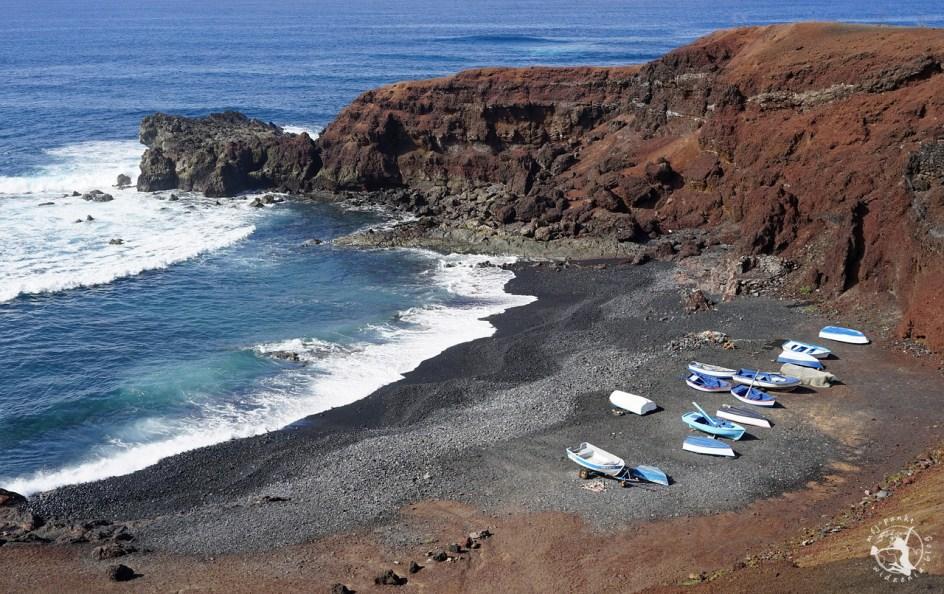 Grecka wyspa Lanzarote - klify i morze