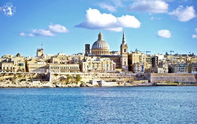 Słoneczna Valletta na Malcie