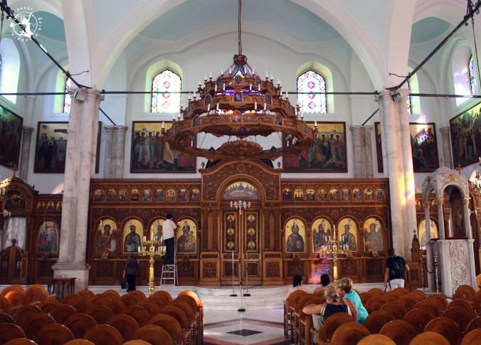 Mój Punkt Widzenia Blog - Kościół Świętego Tytusa w Heraklionie - wnętrze