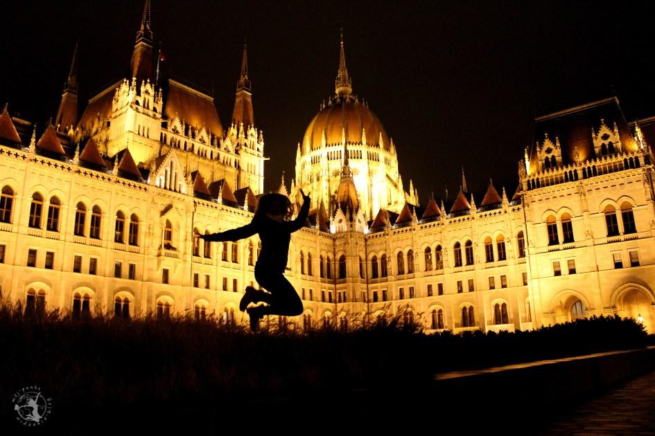 Mój punkt widzenia blog - skok w Budapeszcie, Parlament