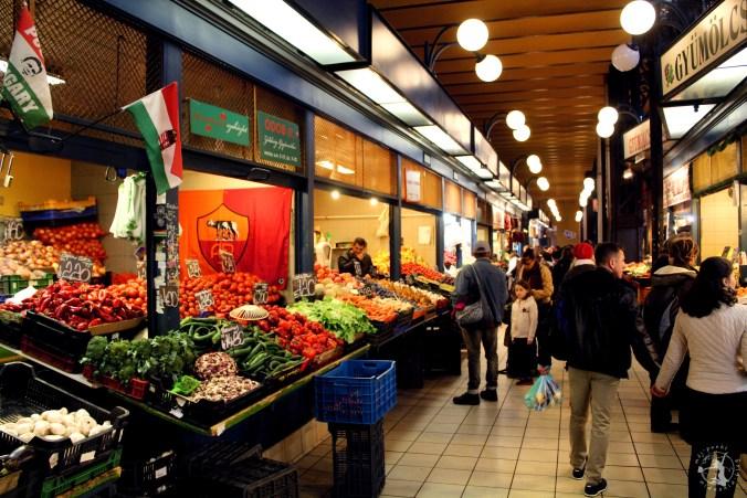 Mój Punkt Widzenia Blog - co zwiedzić w Budapeszcie, Hala Targowa
