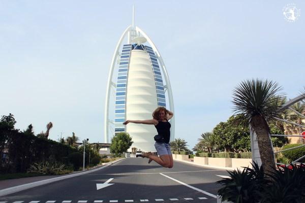 Mój Punkt Widzenia Blog – waluta w Dubaju, skok przy Burj Al Arab