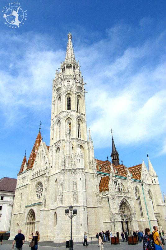 Mój Punkt Widzenia Blog - kościół Macieja, Budapeszt