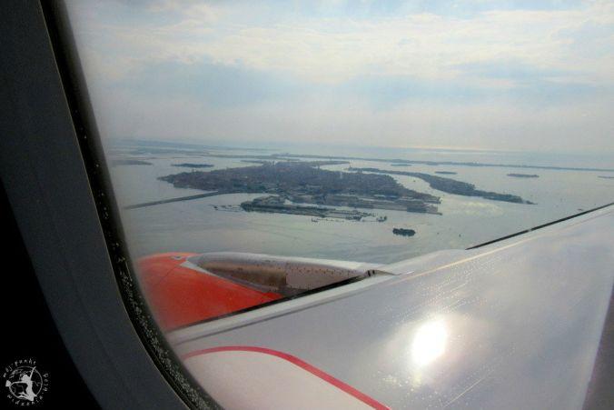 Mój Punkt Widzenia Blog - Wenecja widok z okna samolotu