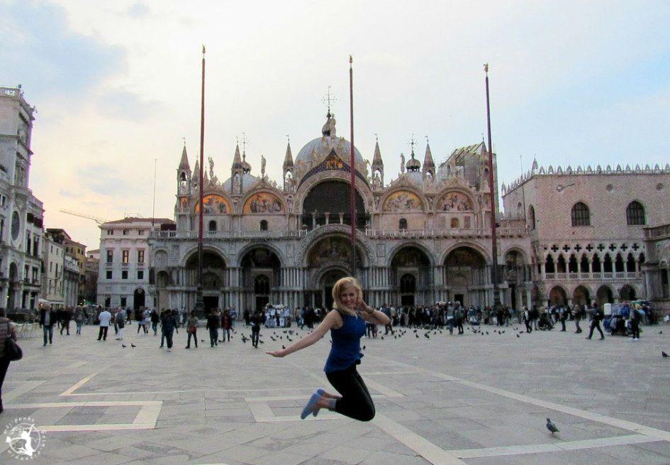 Mój Punkt Widzenia Blog - skok, Bazylika św. Marka Wenecja