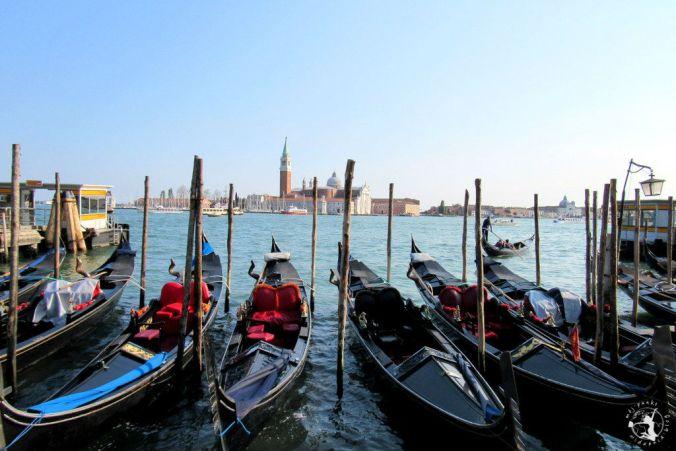 Mój Punkt Widzenia Blog - gondole w Wenecji