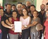 Prefeita assina ordem de serviço para reconstrução do posto de saúde na Vila Elim.