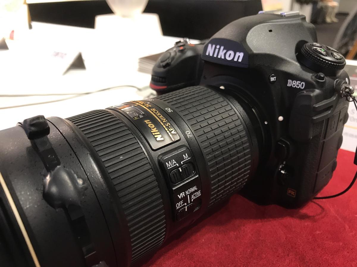 [6]Nikon D850を触ってきました