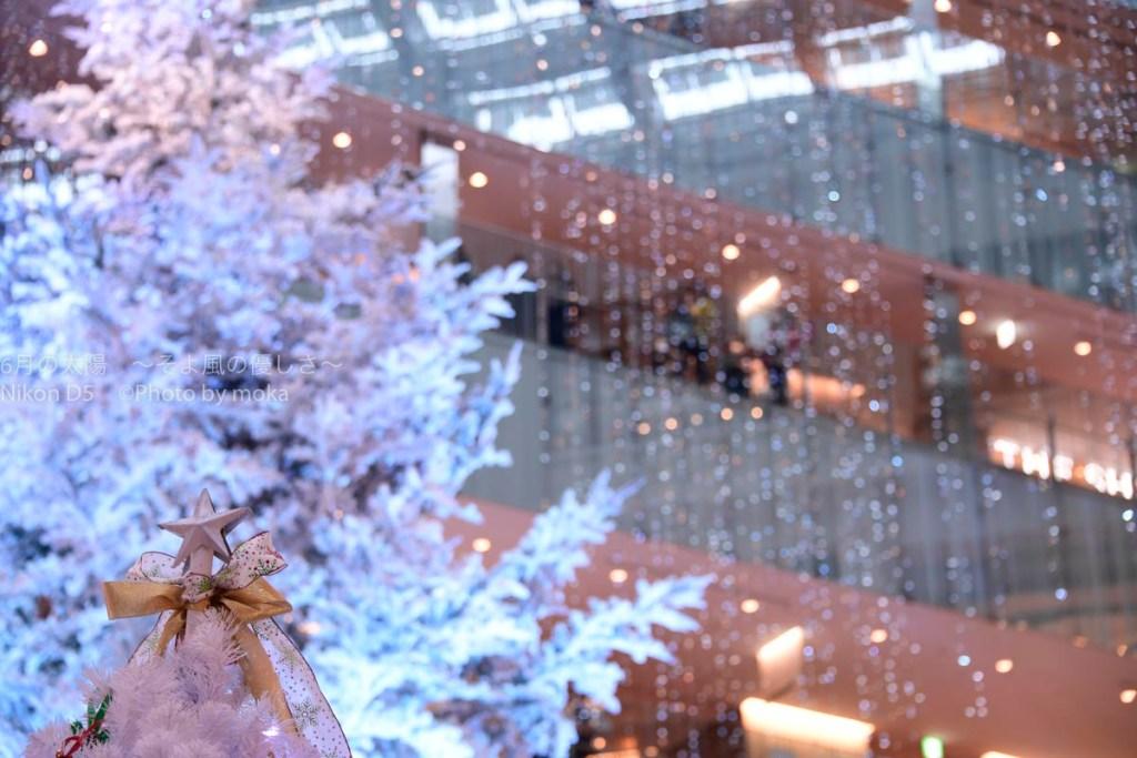 [6]東京丸の内、KITTEのクリスマスツリー