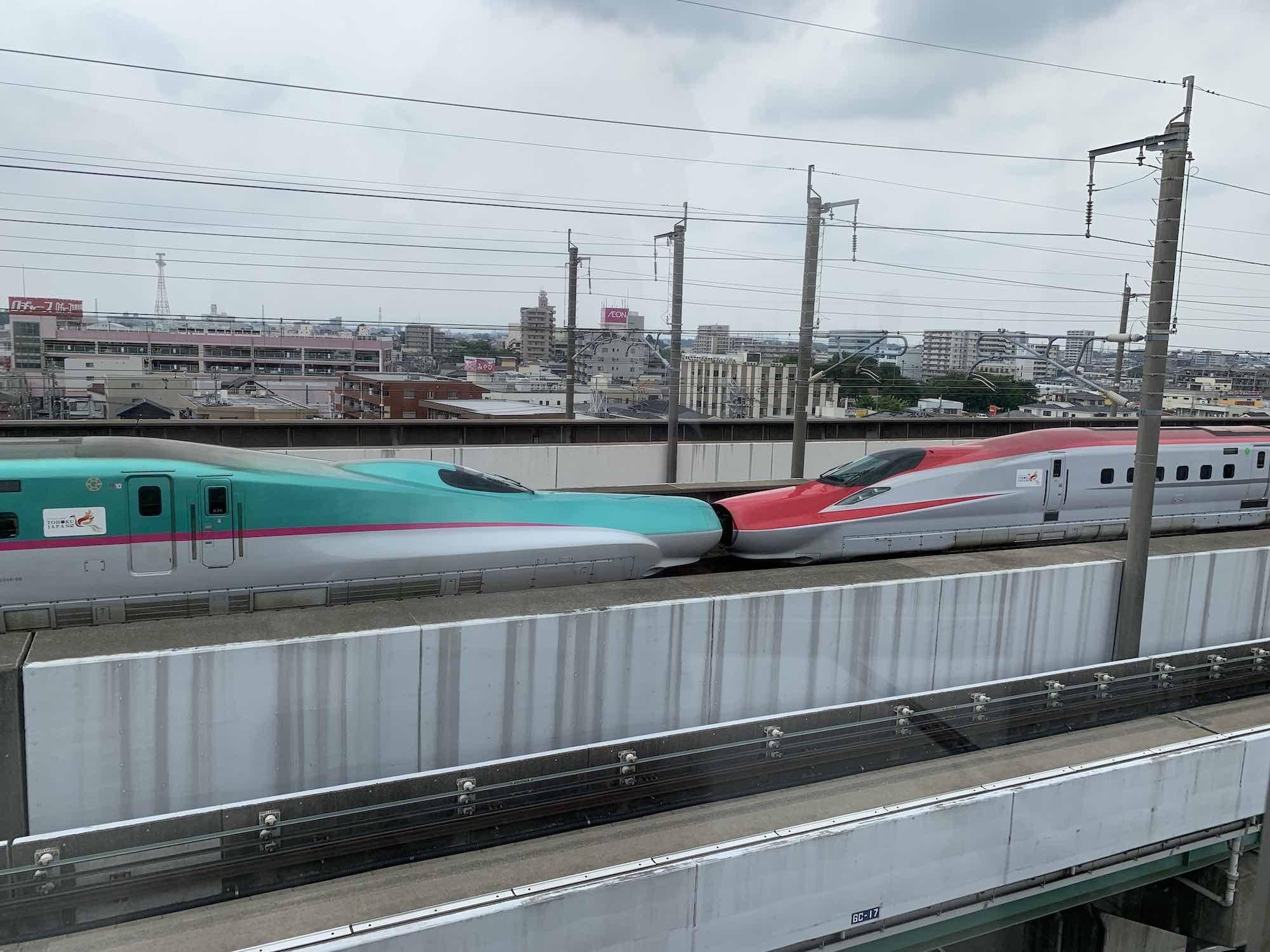 [6]鉄道博物館で新幹線見物!!