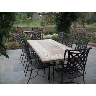 mesas de patio de granito 2021