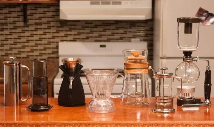 Muadil Kahve Demleme Ekipmanları