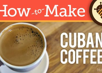 How to Make Cuban Coffee - Cafe Cubano Recipe (Cuban Café 'Espresso' with Faux Crema / Espuma)