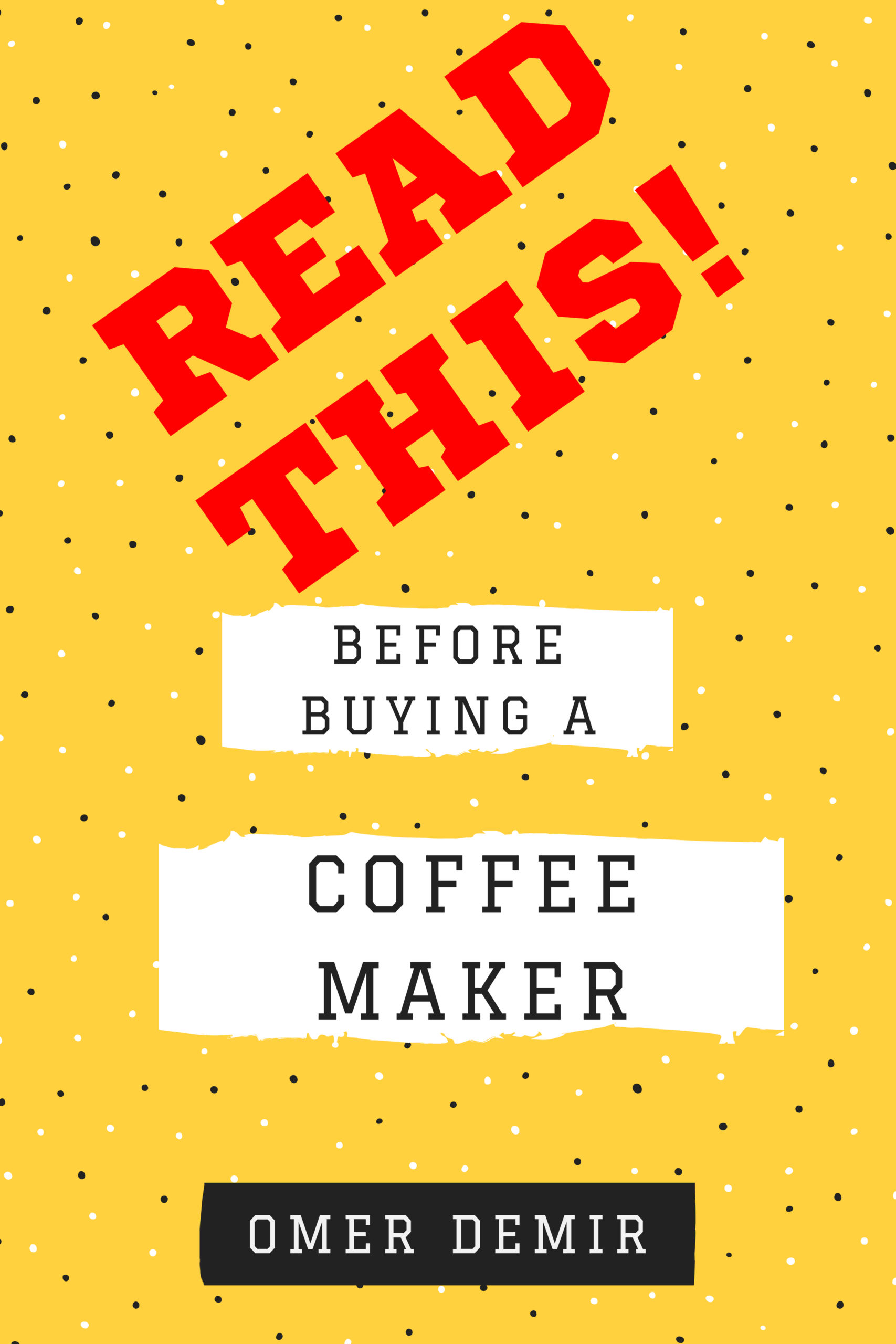Read This Before Buying A Coffee Maker | M O K A P O T A