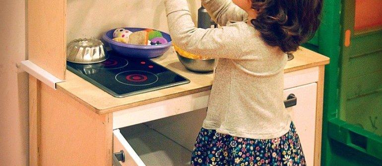 Cucina per bambini: un gioco dalle mille risorse