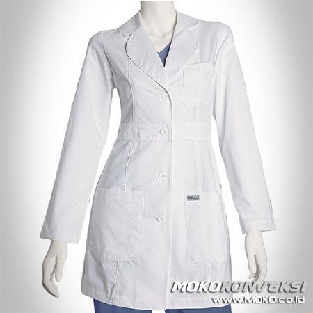 Belanja Pakaian Online Murah Jas Laboratorium Seragam Putih Perawat