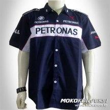 Jual Baju Kemeja Seragam Kerja Crew bmw f1 sauber team racing crew shirts