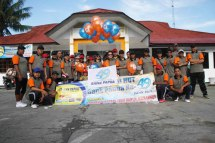 Polo Shirt Event HUT 49 Bank Papua Cab. Sarmi
