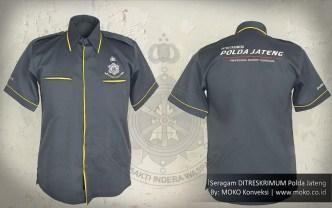 konveksi baju seragam polisi reserse polda jateng