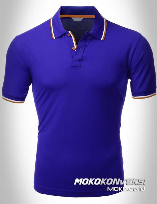 Polo Shirt Dual Stripes Accent  MOKOCOID