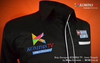 Model Baju Kerja Seragam Kompas TV Jawa Tengah Moko Konveksi Semarang