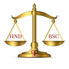 BSC HND Dichotomy