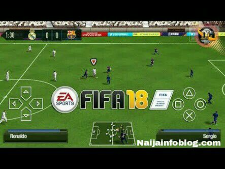 FIFA 18 Android gameplay