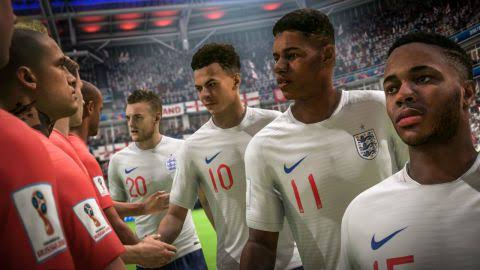 England Team FIFA World Cup Game