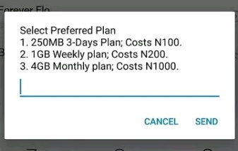 MTN Deal Zone 4gb for N1000 data plan