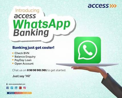Access Bank WhatsApp Banking Number