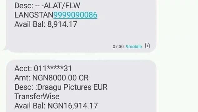 Draagu app earnings