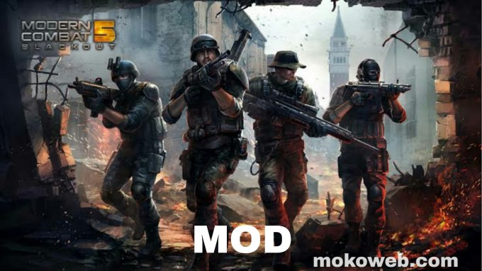 Modern combat 5 apk mod characters