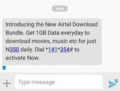 Airtel 1gb for n350 download bundle