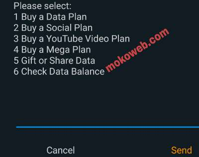 Select airtel data plan
