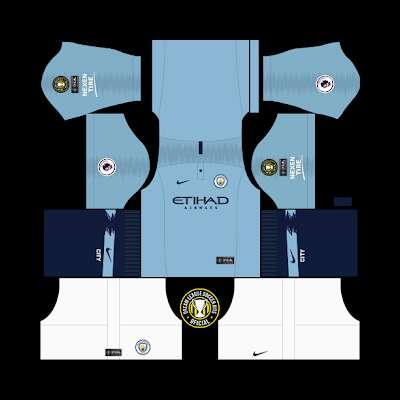 Dream league soccer 2019 man city kits