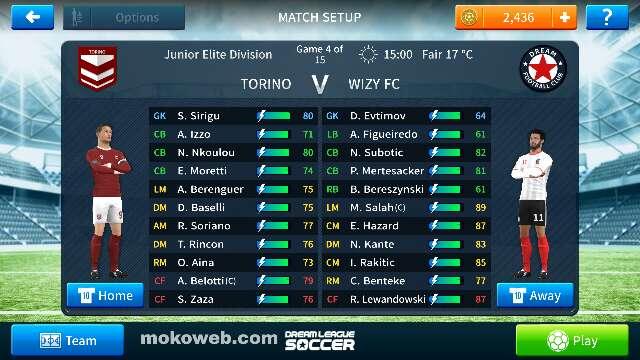 DLS 20 Apk + OBB Data – Dream League Soccer 2020 Download