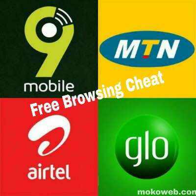 Free Browsing Cheat August 2019 for MTN, Airtel, Glo, 9Mobile, Cell C