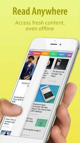 Smart news app