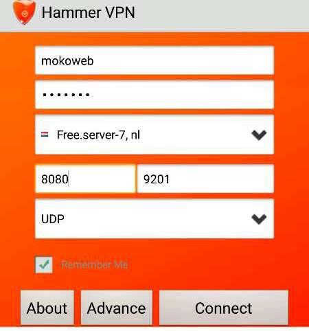 MTN Hammer VPN Cheat